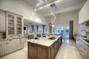 Contemporary Style House Plan - 4 Beds 4.5 Baths 4943 Sq/Ft Plan #930-512 Interior - Kitchen