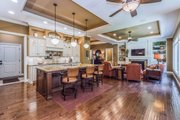 Ranch Style House Plan - 5 Beds 3.5 Baths 4406 Sq/Ft Plan #70-1502