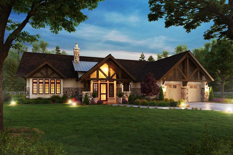House Plan Design - Craftsman Exterior - Front Elevation Plan #942-58