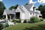 Farmhouse Style House Plan - 4 Beds 3.5 Baths 2828 Sq/Ft Plan #120-258 Exterior - Other Elevation