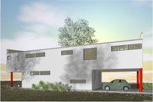 House Plan Design - Modern Exterior - Other Elevation Plan #450-6