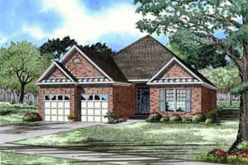 House Design - European Exterior - Front Elevation Plan #17-190