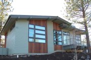 Modern Style House Plan - 4 Beds 2.5 Baths 2257 Sq/Ft Plan #895-24 Exterior - Other Elevation