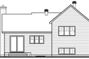 House Plan - 2 Beds 1 Baths 1595 Sq/Ft Plan #23-138 Exterior - Other Elevation