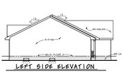 Ranch Style House Plan - 3 Beds 2 Baths 1973 Sq/Ft Plan #20-2270 Exterior - Other Elevation