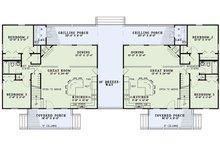 Cottage Floor Plan - Main Floor Plan Plan #17-2565
