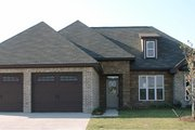 European Style House Plan - 4 Beds 3 Baths 2259 Sq/Ft Plan #63-254 Exterior - Front Elevation
