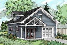 Craftsman Exterior - Front Elevation Plan #124-1069