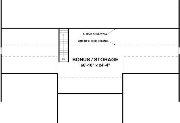 Traditional Floor Plan - Other Floor Plan Plan #56-606