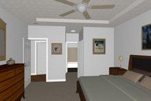 Dream House Plan - Farmhouse Interior - Master Bedroom Plan #126-179