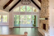 Craftsman Style House Plan - 4 Beds 4 Baths 4140 Sq/Ft Plan #437-116 Interior - Family Room