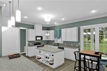 Architectural House Design - Traditional Interior - Kitchen Plan #44-250