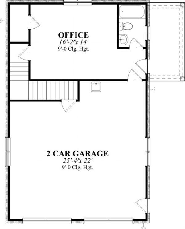 Traditional Floor Plan - Main Floor Plan Plan #63-331
