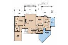 Country Floor Plan - Upper Floor Plan Plan #923-43