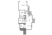 Craftsman Style House Plan - 3 Beds 2 Baths 1729 Sq/Ft Plan #895-56 Floor Plan - Main Floor Plan