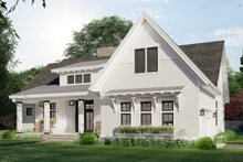 Home Plan - Farmhouse Exterior - Front Elevation Plan #51-1169