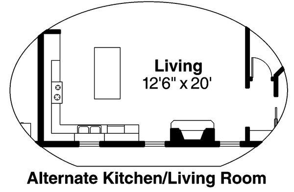 Contemporary Floor Plan - Other Floor Plan Plan #124-875