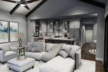 Farmhouse Interior - Family Room Plan #120-270