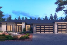 Dream House Plan - Contemporary Exterior - Front Elevation Plan #1066-115