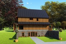 Craftsman Exterior - Other Elevation Plan #923-163