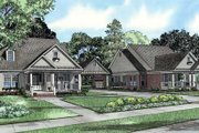 Traditional Style House Plan - 3 Beds 2 Baths 3696 Sq/Ft Plan #17-643 Exterior - Front Elevation