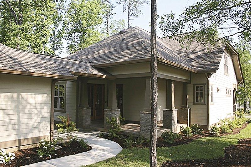 Craftsman Exterior - Other Elevation Plan #453-9 - Houseplans.com