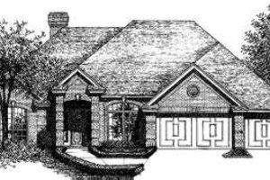 Exterior - Front Elevation Plan #310-144