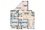 European Style House Plan - 4 Beds 5 Baths 5126 Sq/Ft Plan #27-363 Floor Plan - Upper Floor Plan