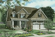 Country Style House Plan - 3 Beds 2.5 Baths 2457 Sq/Ft Plan #17-2268 Exterior - Front Elevation