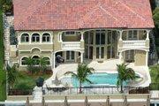 Mediterranean Style House Plan - 5 Beds 6.5 Baths 5743 Sq/Ft Plan #420-178 Photo