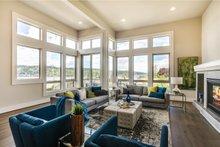 House Design - Modern Interior - Family Room Plan #1066-2