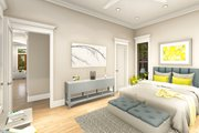Ranch Style House Plan - 3 Beds 2 Baths 1927 Sq/Ft Plan #406-9655 Interior - Master Bedroom