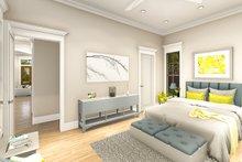 Ranch Interior - Master Bedroom Plan #406-9655