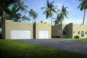 Adobe / Southwestern Style House Plan - 4 Beds 3 Baths 2377 Sq/Ft Plan #1-1457