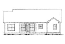 Traditional Exterior - Rear Elevation Plan #20-372