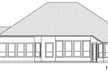 Mediterranean Exterior - Rear Elevation Plan #84-599