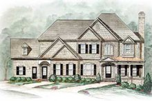 Dream House Plan - Traditional Exterior - Other Elevation Plan #54-141