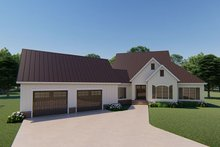 Farmhouse Exterior - Front Elevation Plan #923-120