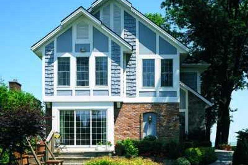 Cottage Exterior - Front Elevation Plan #72-142