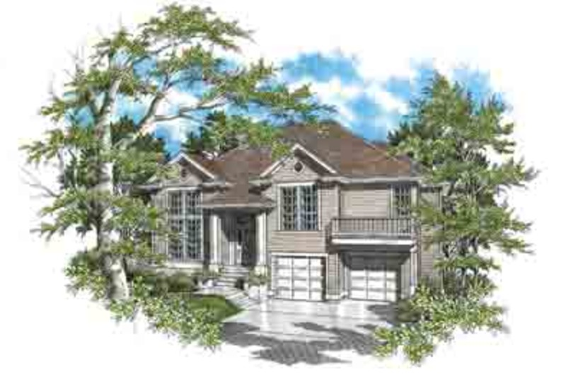 Traditional Exterior - Front Elevation Plan #48-203 - Houseplans.com
