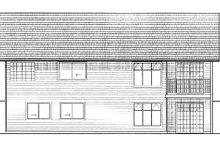 House Plan Design - Ranch Exterior - Rear Elevation Plan #126-139