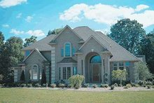 House Plan Design - European Photo Plan #20-1166