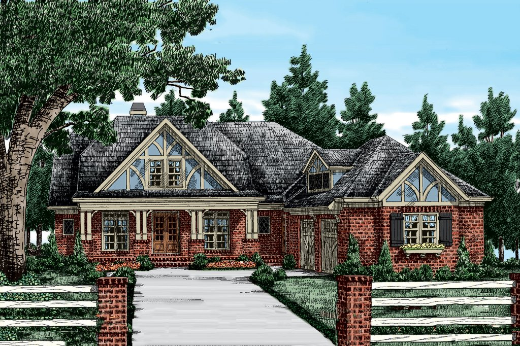 Craftsman style house plan 3 beds 2 5 baths 2325 sq ft for Weinmaster house plans