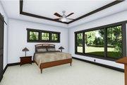 Craftsman Style House Plan - 4 Beds 3.5 Baths 3690 Sq/Ft Plan #1069-12 Interior - Master Bedroom