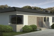 Contemporary Style House Plan - 3 Beds 2 Baths 1676 Sq/Ft Plan #906-15