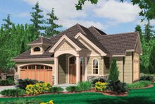 Dream House Plan - Traditional Exterior - Front Elevation Plan #48-375