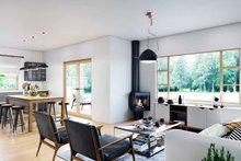 Modern Interior - Family Room Plan #924-10
