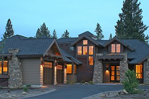 Dream House Plan - Craftsman Exterior - Front Elevation Plan #892-7