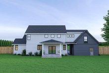 Farmhouse Exterior - Rear Elevation Plan #1070-34