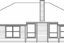 Traditional Exterior - Rear Elevation Plan #84-110
